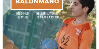 Academia de verano de Tecnificación en Balonmano 2018